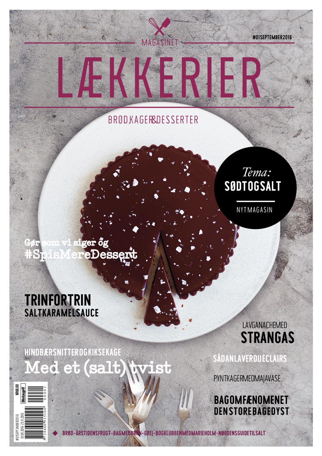 Køb Magasinet Lækkerier #01 (fri forsendelse)